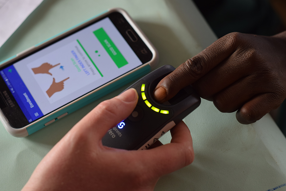 世界No.1の技術力で、幼児の指紋認証を実現。