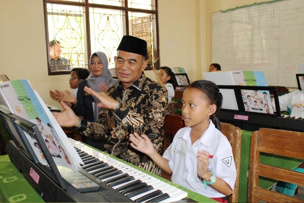 インドネシアでの音楽授業